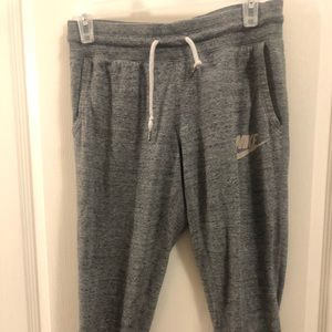 Nike Grey Joggers size small